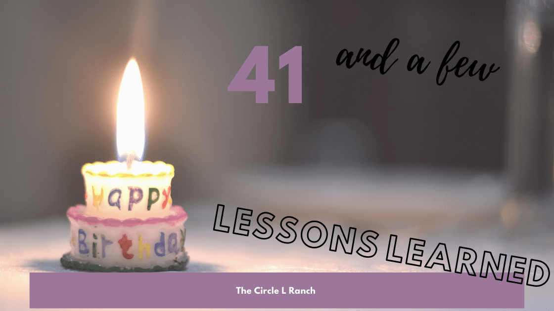 41 And Lessons Learned