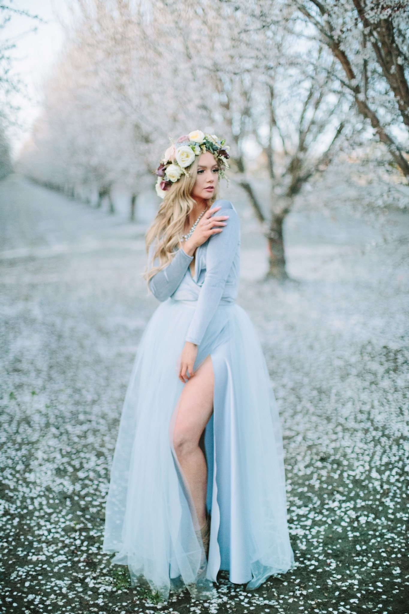Icy Blue Easter with Bliss Tulle  The City Blonde