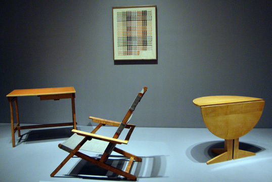 commercial folding chairs gray chair side table art/museums: bauhaus 1919-1933: workshops for modernity at the museum of modern art