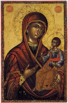 Icon with the Virgin Hodegetria