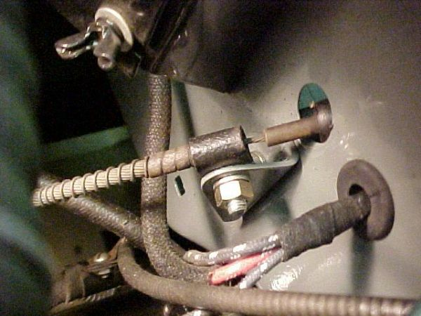 Willys Wiring Diagram Handbrake Cable Securing Clamps The Cj2a Page Forums