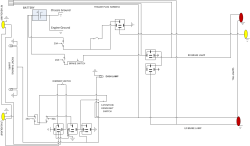 small resolution of cj2a complete wiring harness 28 wiring diagram images