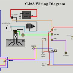 8n 12v Wiring Diagram Avic D3 - The Cj2a Page Forums 1