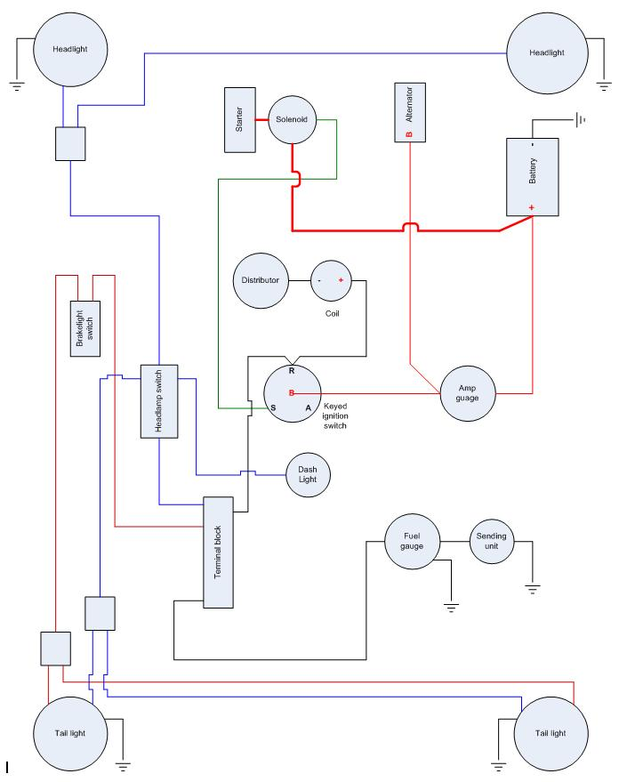 1968 jeepster wiring diagram