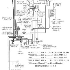 1957 Chevy Truck Ignition Switch Wiring Diagram Data Flow For Employee Management System The Cj2a Owner's Manual