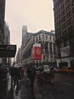 The famous Macy's on 34th St.