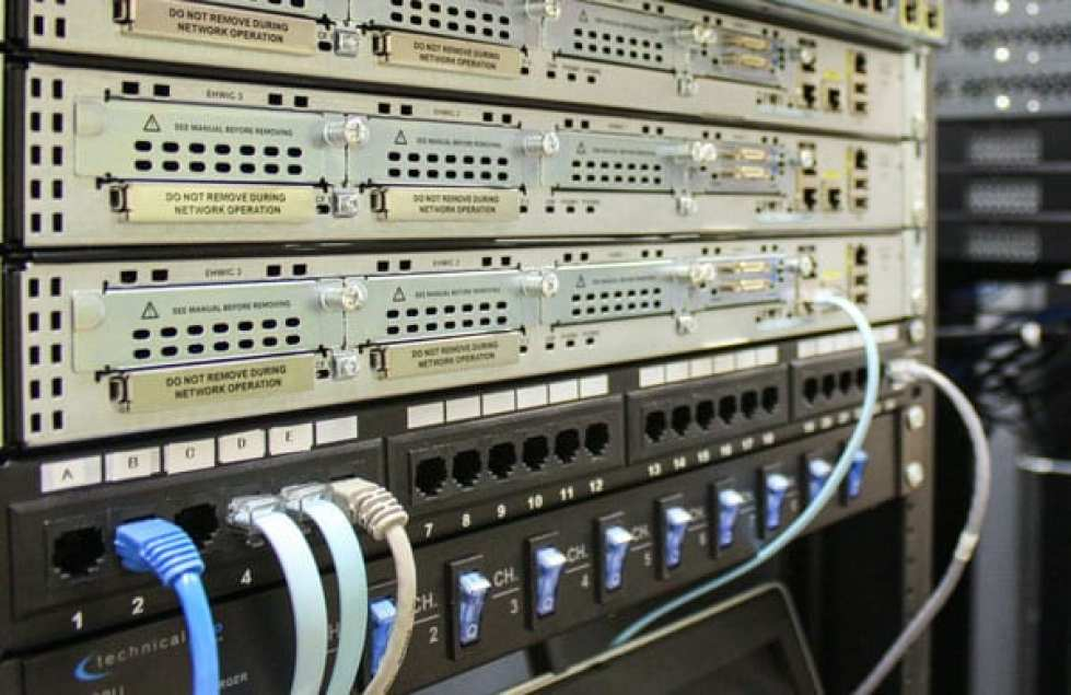 A server mainframe located in the Streeter Anex is utilized by the Networking 151 class as a hands on lab for Cisco.
