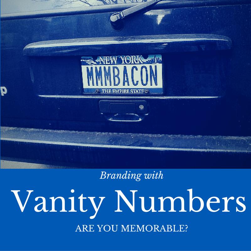 Vanity Numbers