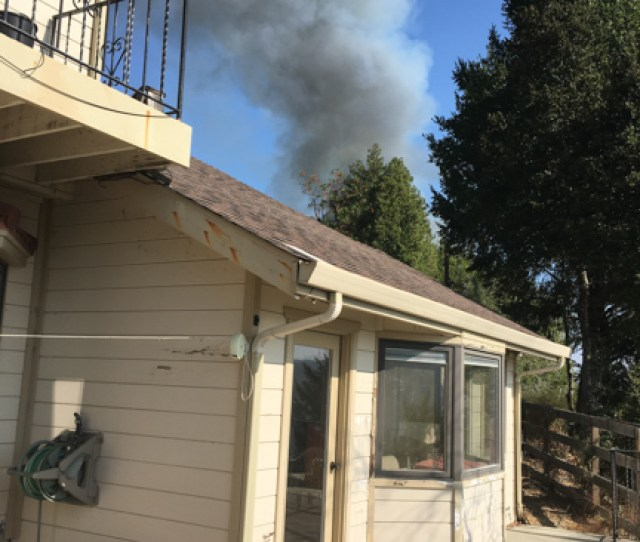 Finally I Stepped Out Onto Our Back Deck Glancing Over My Shoulder To The East I Saw A Vast Plume Of Dark Smoke Rising From A Dangerously Close Distance