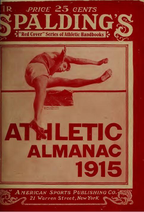 Spaldings Athletic Almanac 17 Volumes American Sports