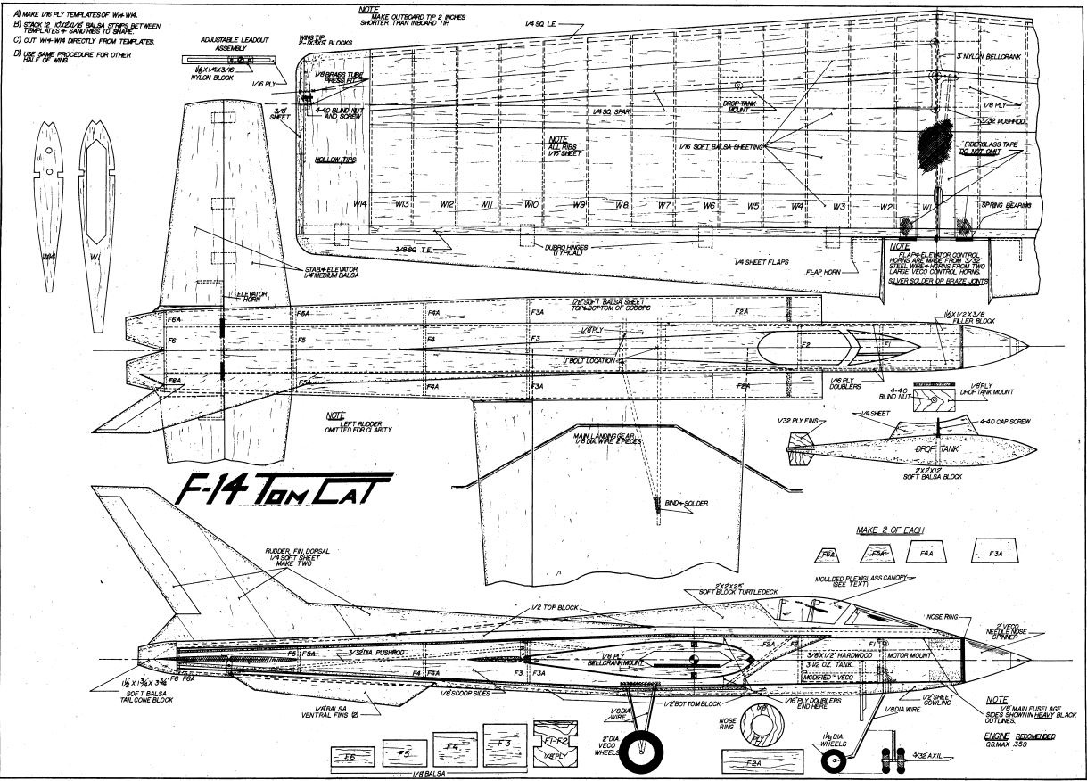 550 Giant Scale Rc Model Airplane Plans Templatesers