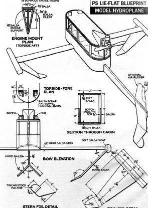 RACE CAR, ATV, WOOD HOBBY PLANS, GAS POWERED AIR RACE BOAT