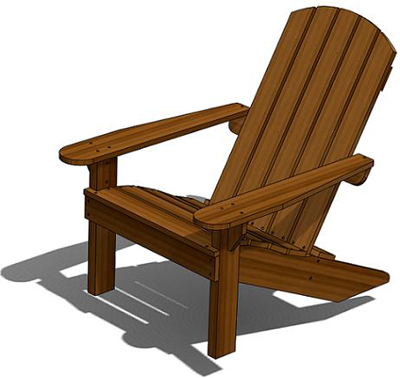 how to make a wooden beach chair high back covers adirondack deck outdoor wood plans download
