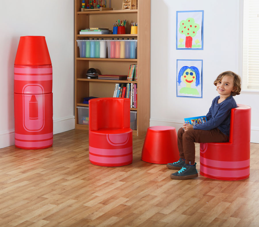 Crayon Seating with MLink