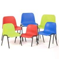 Dark Blue School Chair