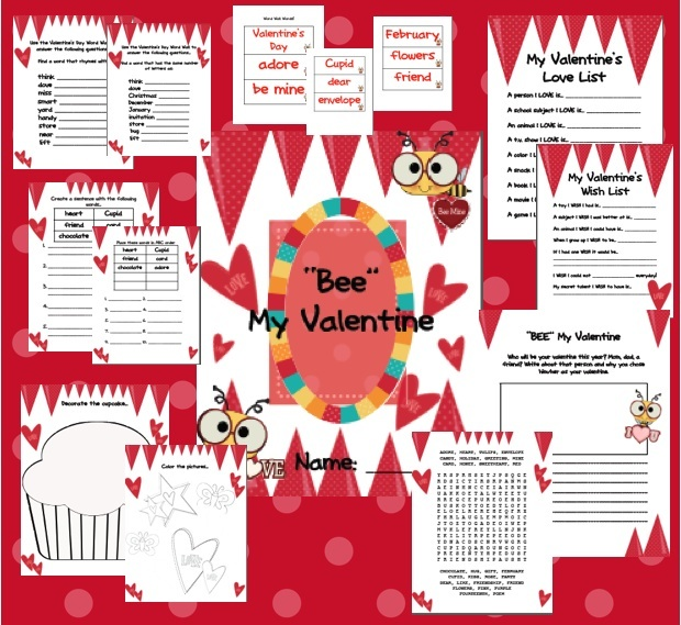 Second Grade Literacy Valentines Day Centers Amp Resources