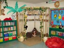 Jungle Classroom Reading Corner Ideas