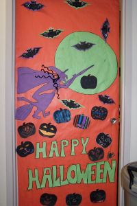 Halloween Classroom Door Decorations