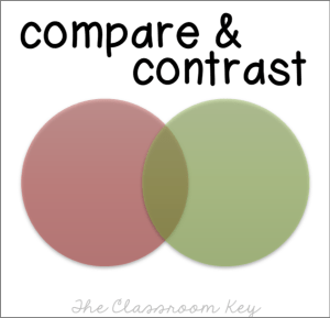 compare and contrast text structure