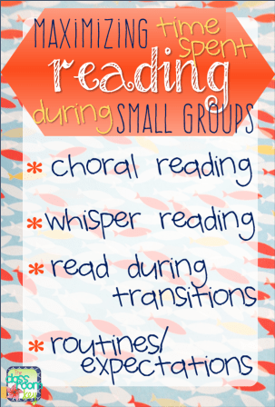 How to make reading groups effective by maximizing time spent reading