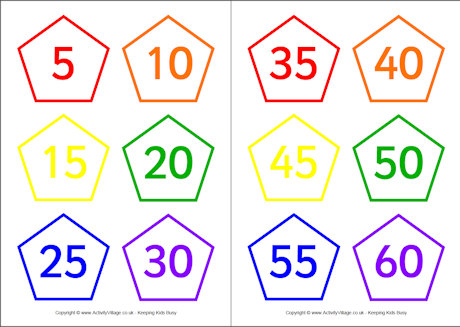 Big List Skip Counting Activities on Free Printable Skip Counting 2s Clip Cards