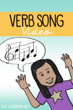 Use this free song and video to teach your students verbs