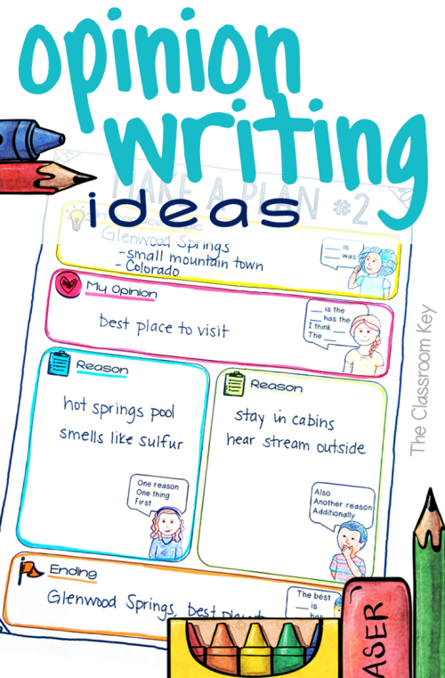 small resolution of Get Students Excited about Opinion Writing with these 4 Ideas - The  Classroom Key