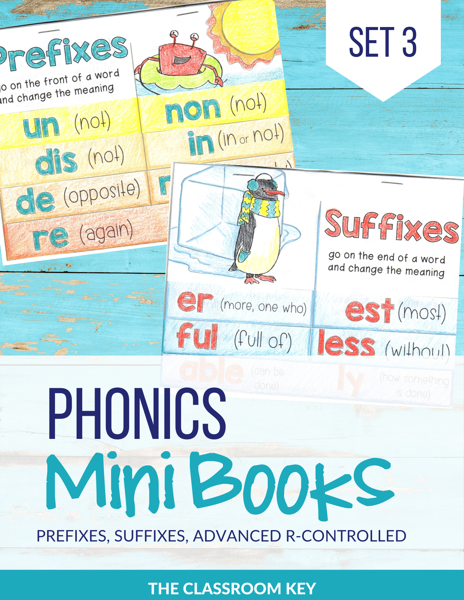 Phonics Mini Books Set 3