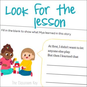 Reading comprehension strategies to help new readers understand text