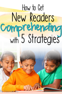 Comprehension strategies for teachers that want to help new readers understand text #readingcomprehension #readingstrategies #firstgrade