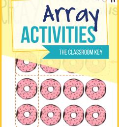 Array Activities - The Classroom Key [ 2000 x 1545 Pixel ]