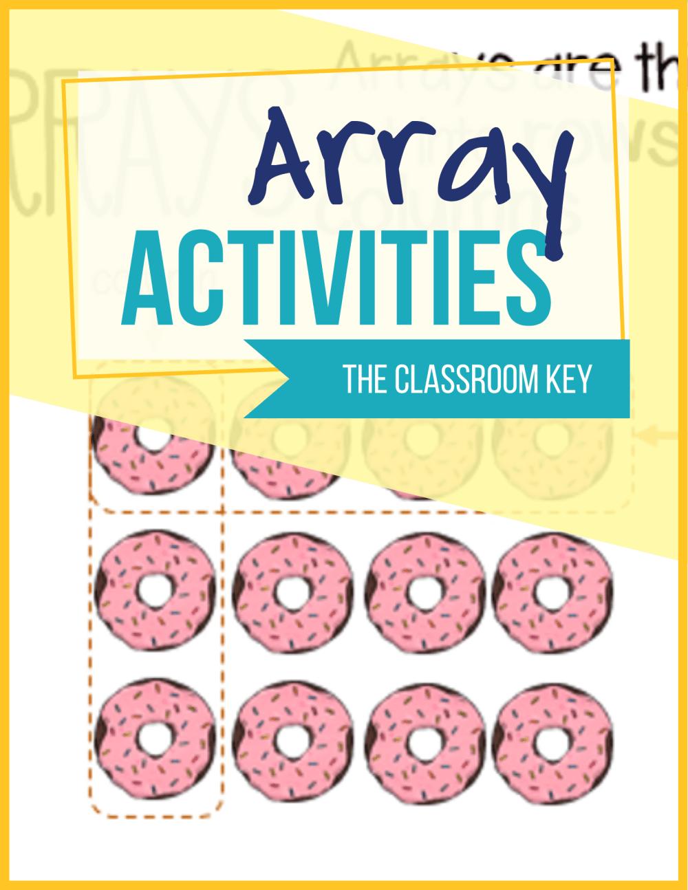 medium resolution of Array Activities - The Classroom Key