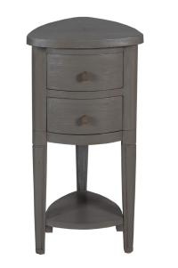Timeless Classics Corner Accent Table With Drawer
