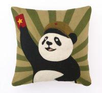 Panda Felt Pillow