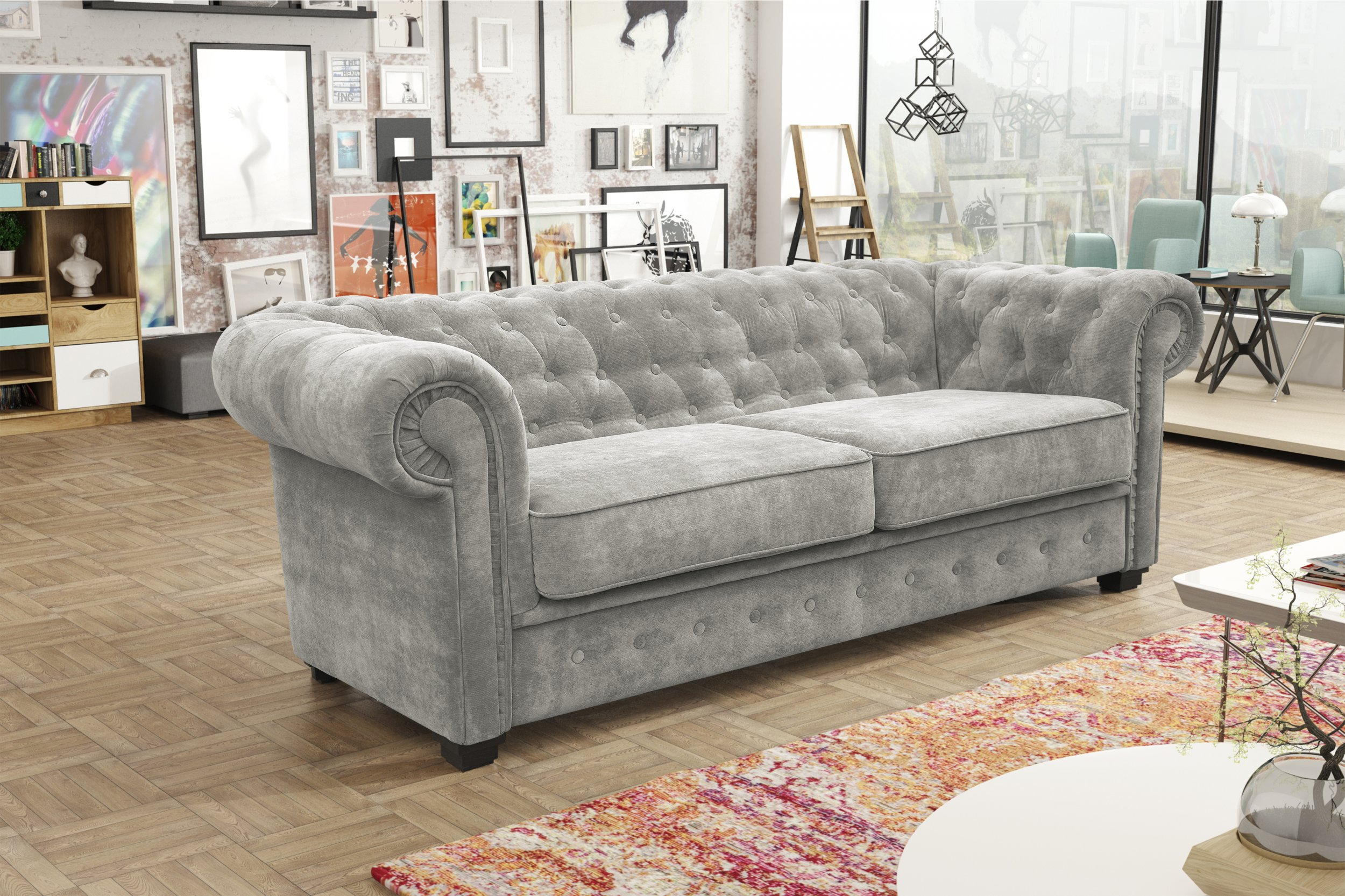 cheapest sofas in ireland top sleeper indiana 3 432 sofa set grey fabric the clearance zone