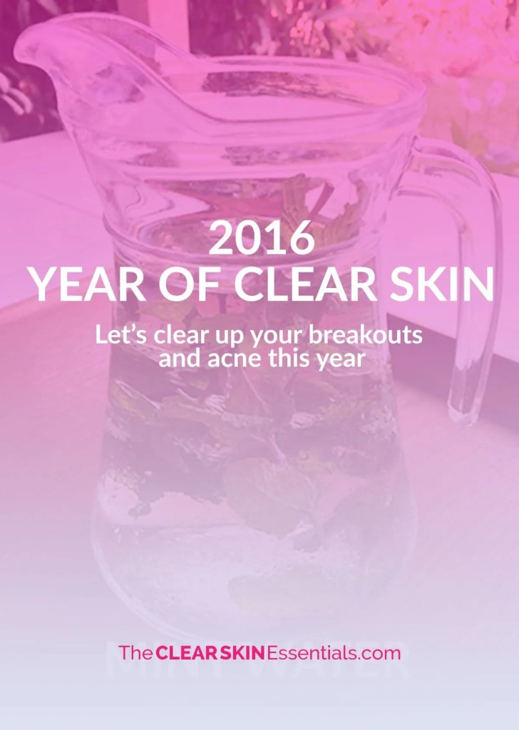 Let's Clear Up Your Skin This Year