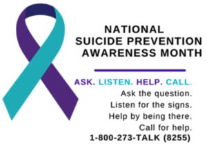 Suicide awareness and prevention: Help save a life