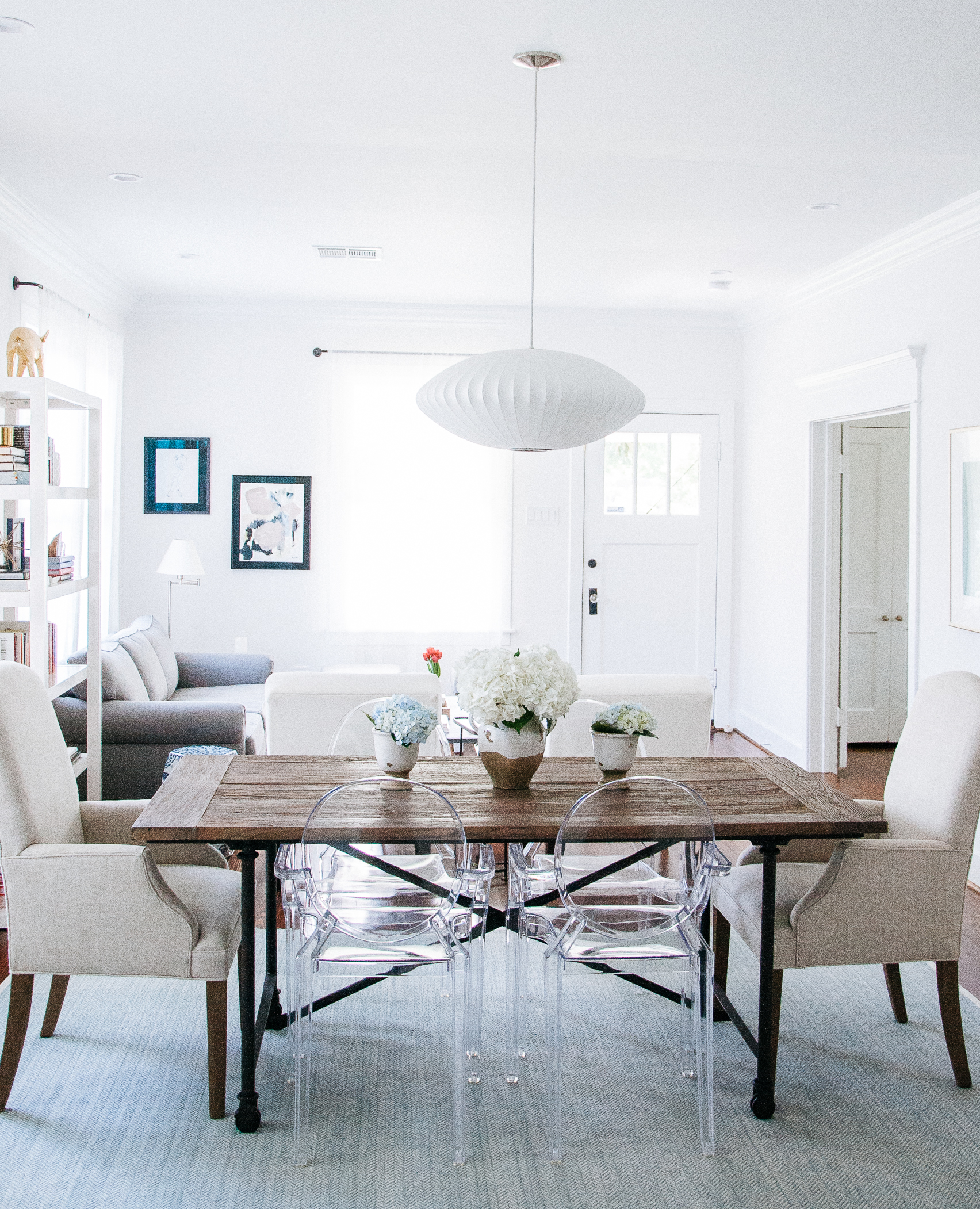 check our marina and seb s house on apartment therapy