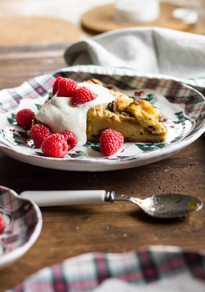jamie oliver s panettone pudding tart theclevercarrot com