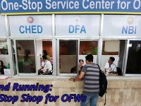 Good News! One-Stop Shop for existing, aspiring OFWs Now Open