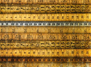 multiple styles of measuring tapes