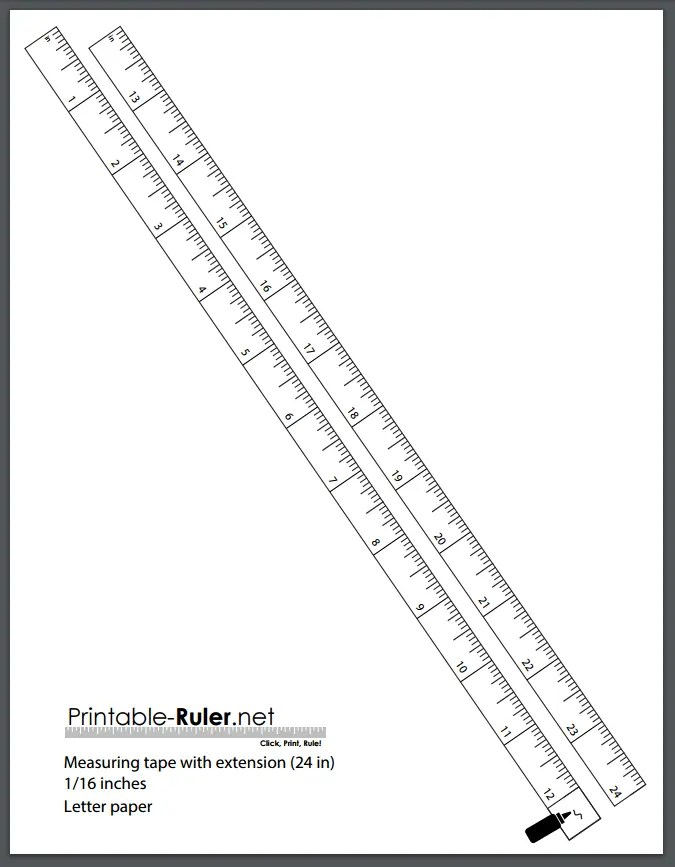The Best Printable Measuring Tapes: A List Of 3 Free