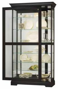 Contemporary Curio Cabinets Black  Review Home Decor