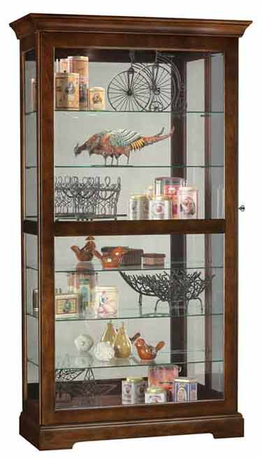 Howard Miller Tyler 680537 Curio Cabinet  The Clock Depot