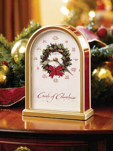 Christmas Clocks Howard Miller 645 424 Carols Of
