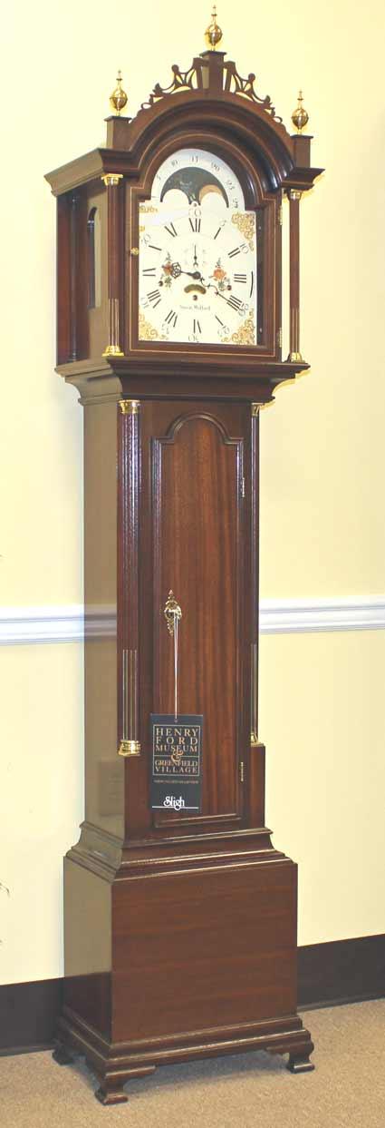 PreOwned Sligh Simon Willard 08611SW Grandfather Clock at The Depot