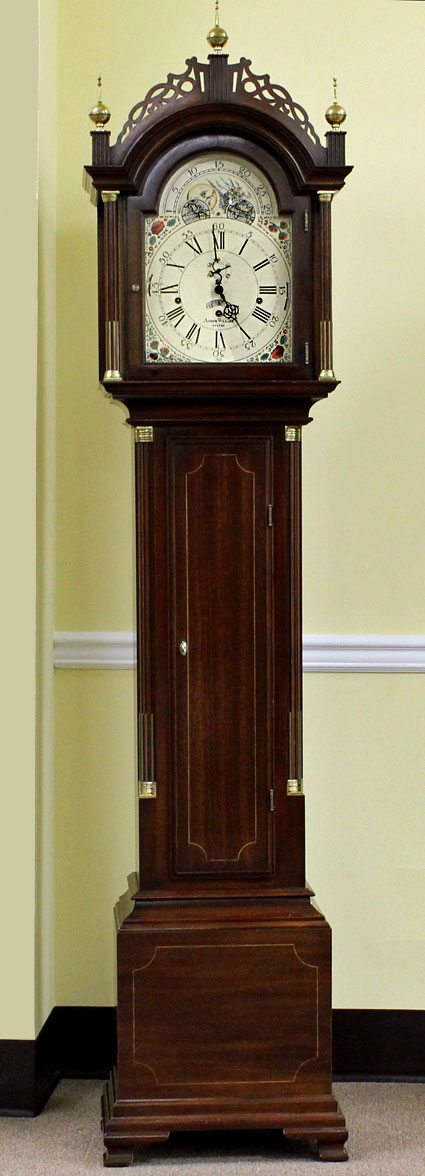 PreOwned Sligh Aaron Willard Grandfather Clock  The Clock Depot