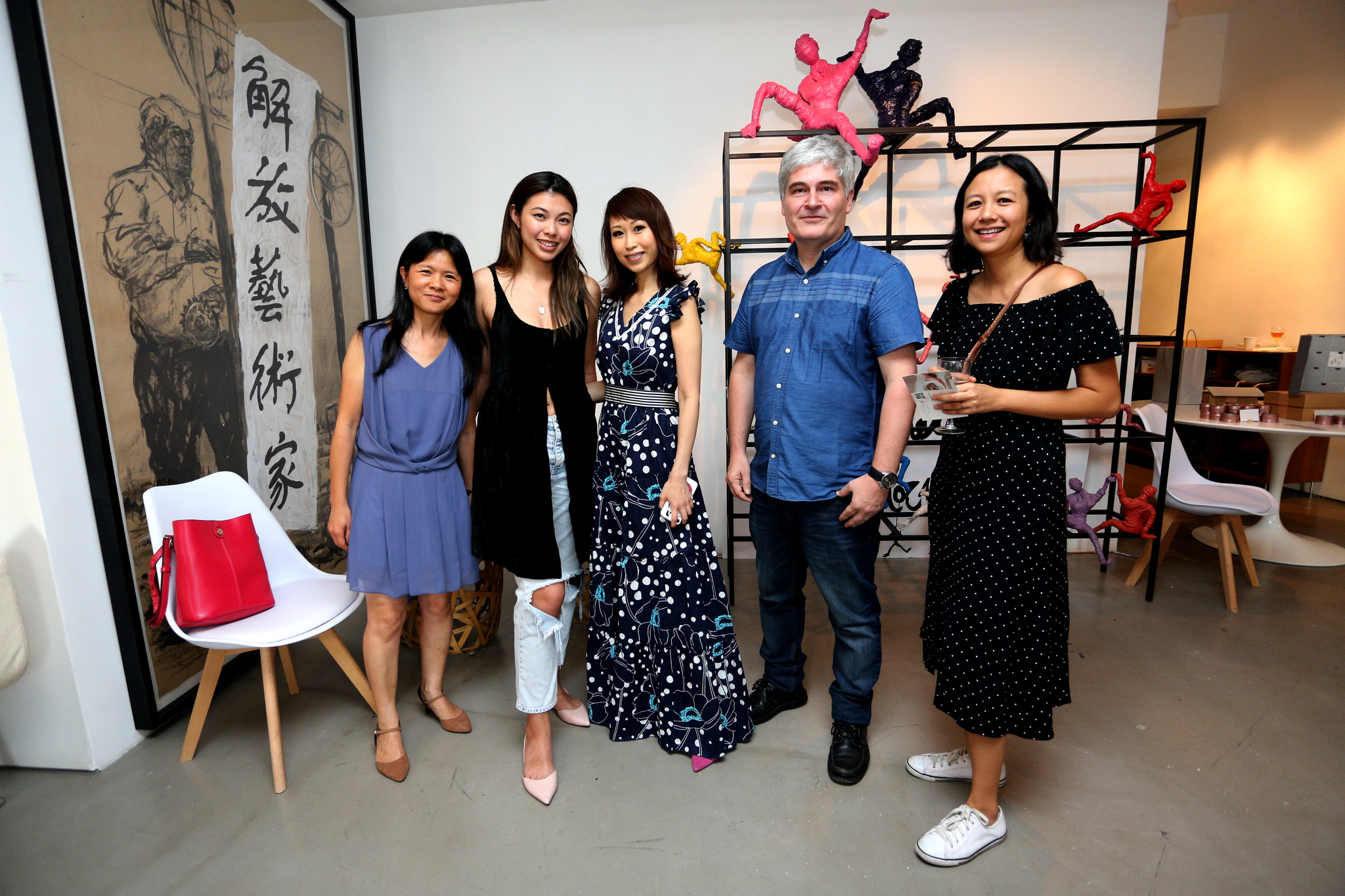 Stella and Christian of the Musuem Concept, with Kayla, SW and Helene of Kben & How
