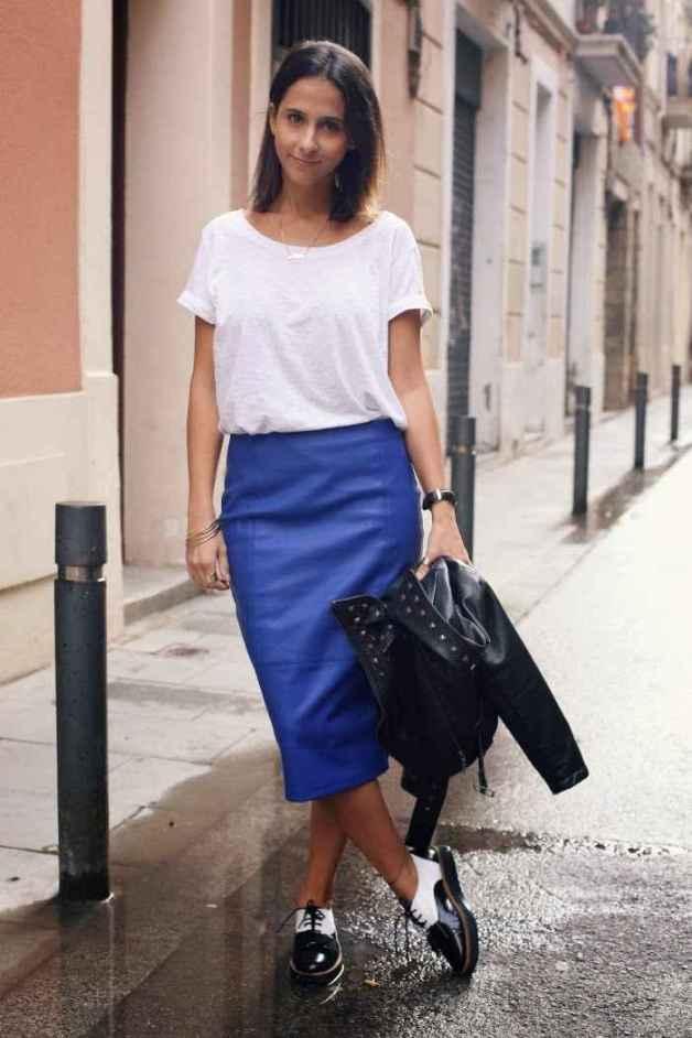 Styleinlima Milagros Plaza Falda Tubo Lapiz Cuero Asos - the clothes maiden