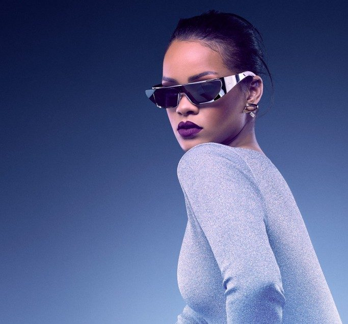 cbbdfcf20aa2 Rihanna Collaborates With Dior On Sunglasses Collection - The Clothes Maiden